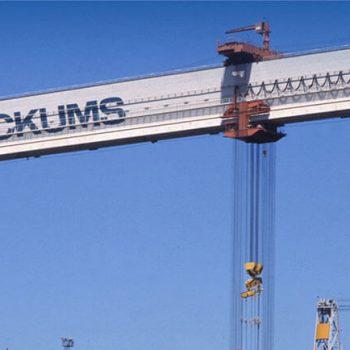 el puente grúa más grande de todo el mundo